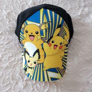 NWOT Pikachu Snap Back Hat